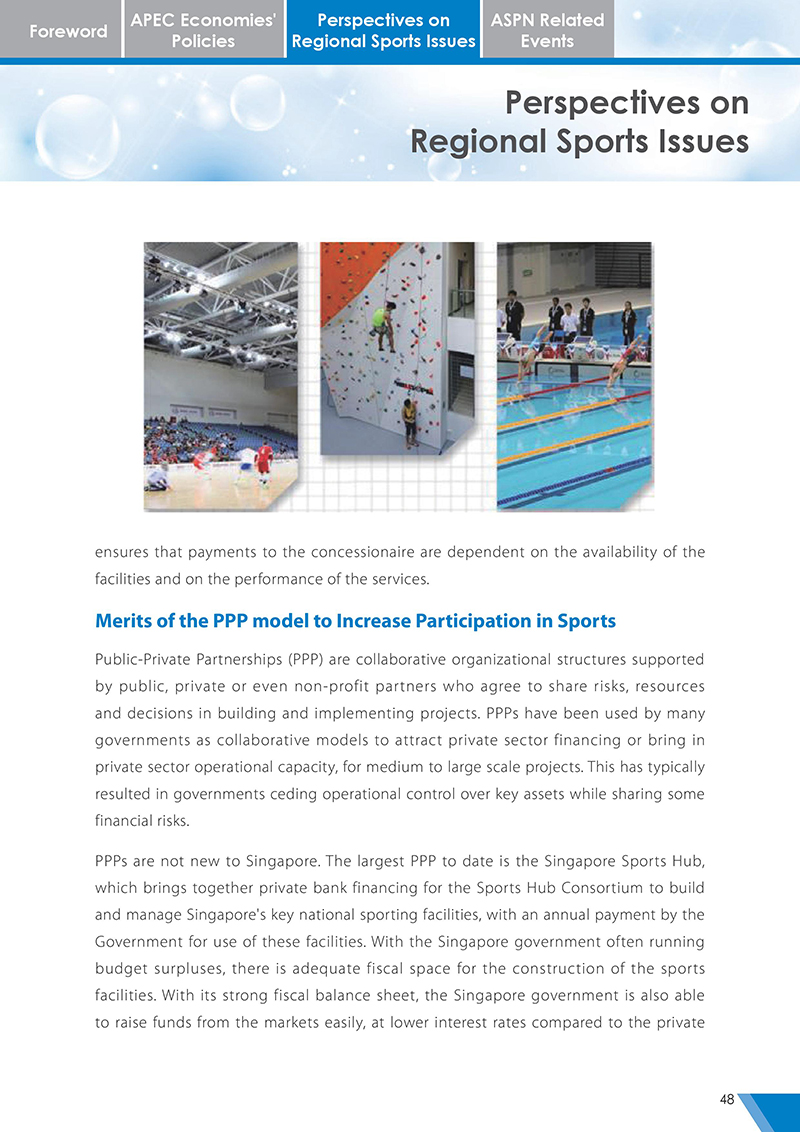 APEC Sports Newsletter Issue 3 October 2017 P.48