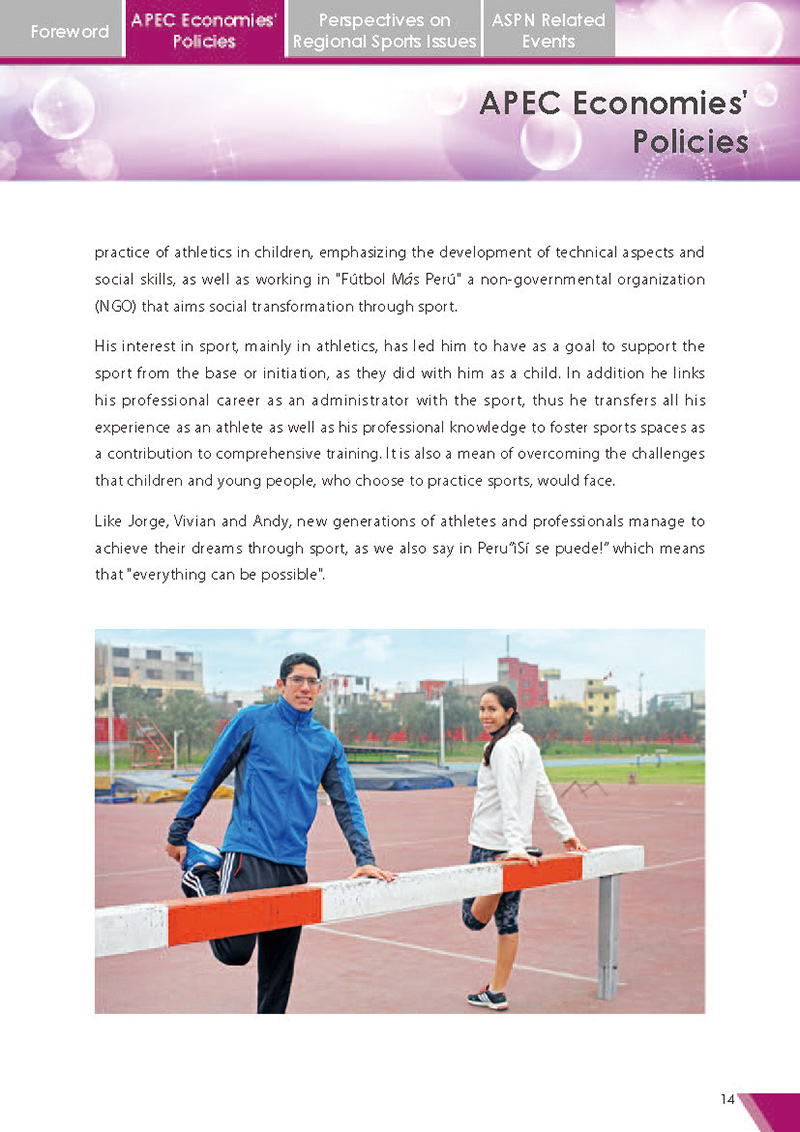 APEC Sports Newsletter Issue 2 July 2017 P.14
