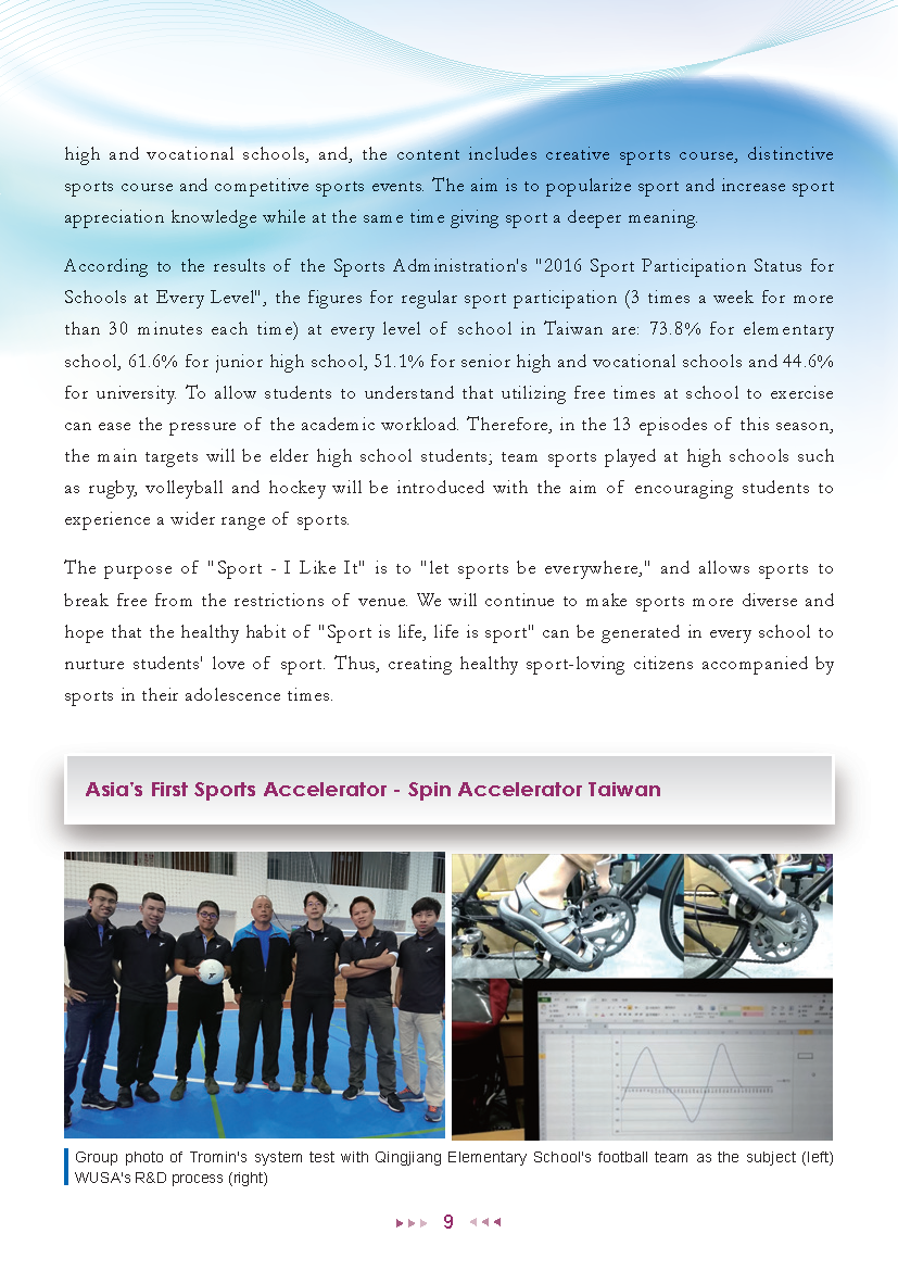 Sports Administration Newsletter #75 February 2019 P.9